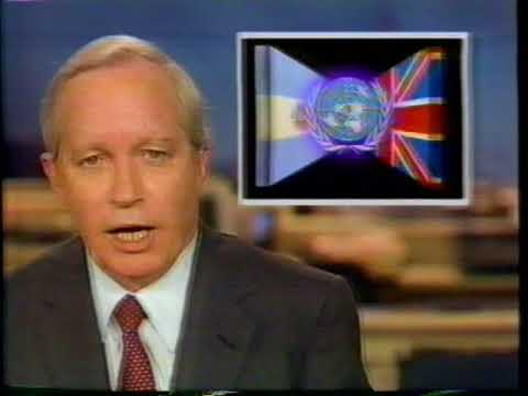 5/22/1982 ABC News Weekend Report Falkland Islands War Coverage 90% Complete