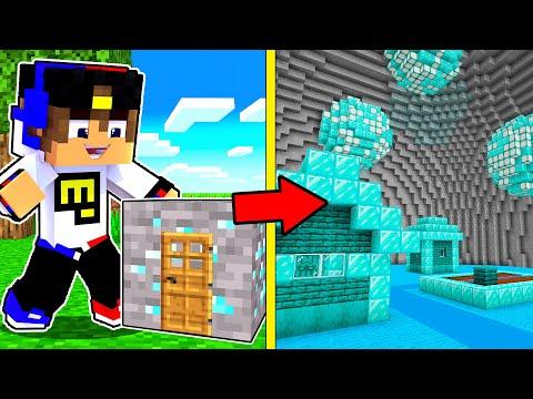 Майнкрафт но Можно Попасть Внутрь Любого Блока ! Девушка НУБ И ПРО Видео Троллинг Minecraft