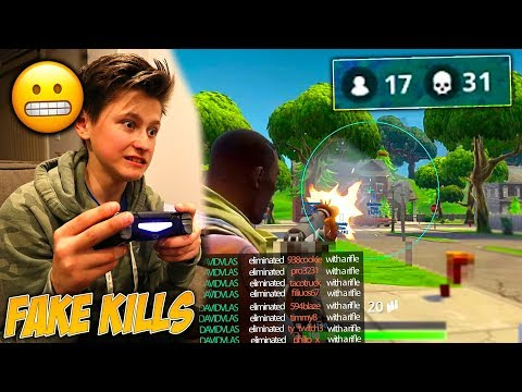 I Caught My Little Brother CHEATING In Fortnite: Battle Royale!   David Vlas