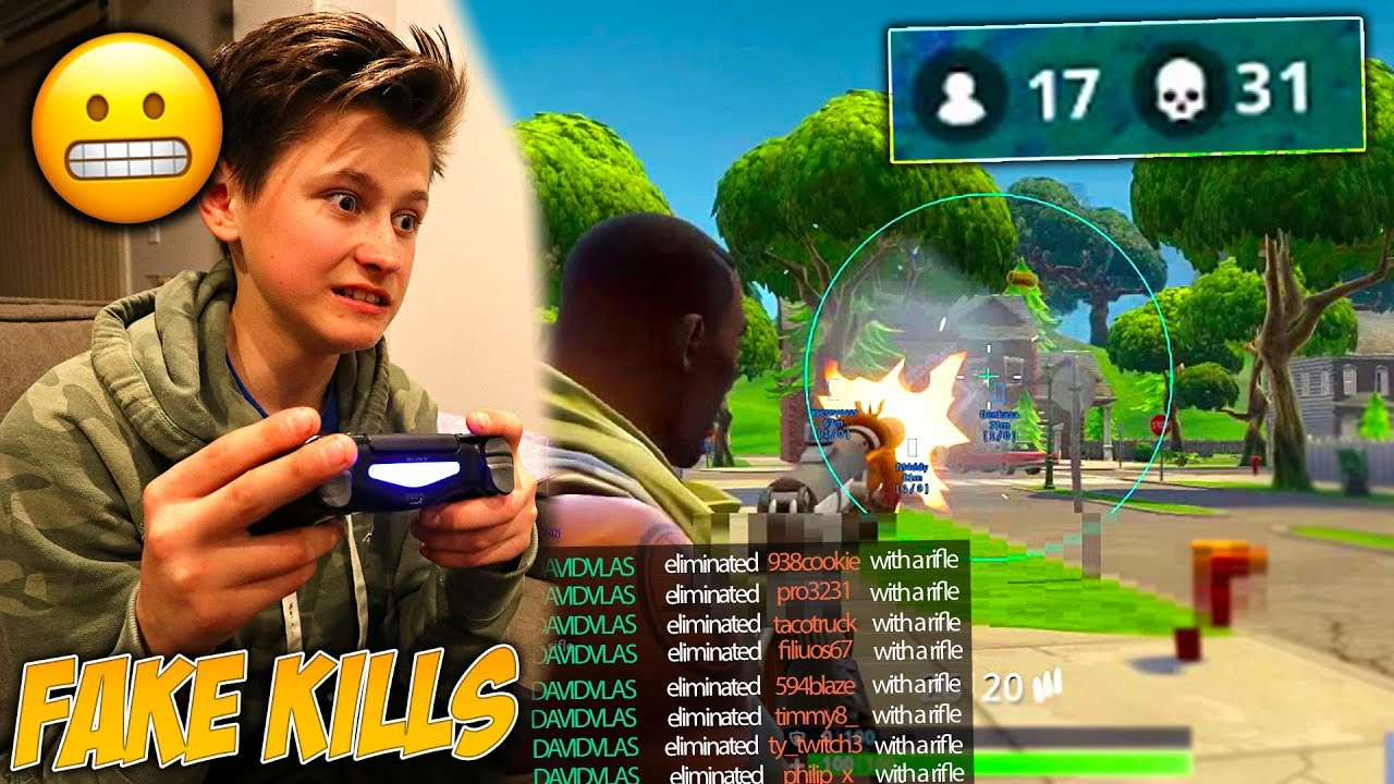 I Caught My Little Brother Cheating In Fortnite Battle Royale David Vlas