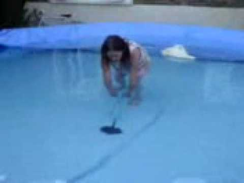 Deadly fish in swimming pool youtube for Swimming pool fish