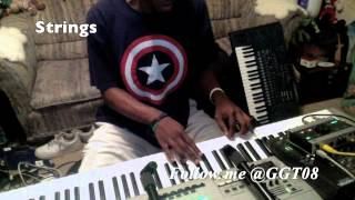 "Rick Ross feat. Usher ""Touch N You"" piano and bass cover"