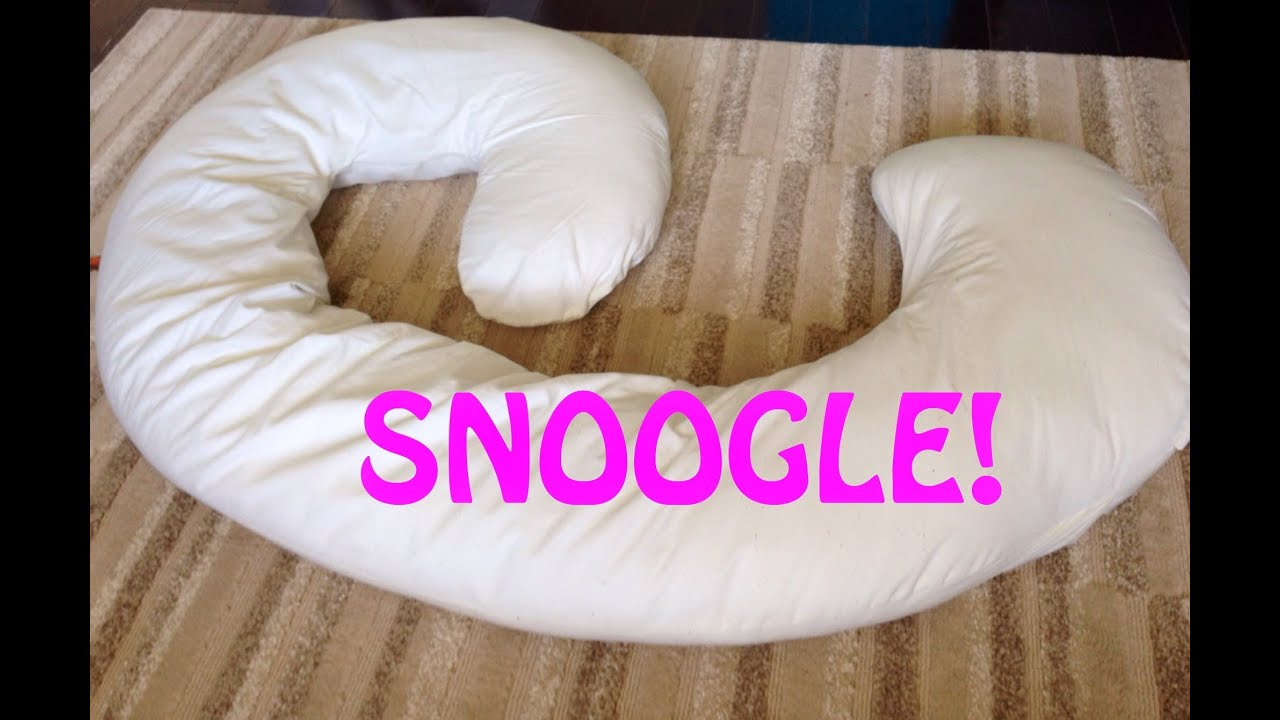 Snoogle Pregnancy Body Pillow Review Youtube