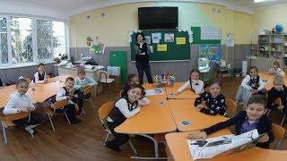 Урок - фестиваль у 1-ВІ класі СШ 134,  Відео 360, Дніпро квітень 2019