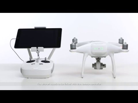 DJI Phantom 4 - Linking the Remote Controller