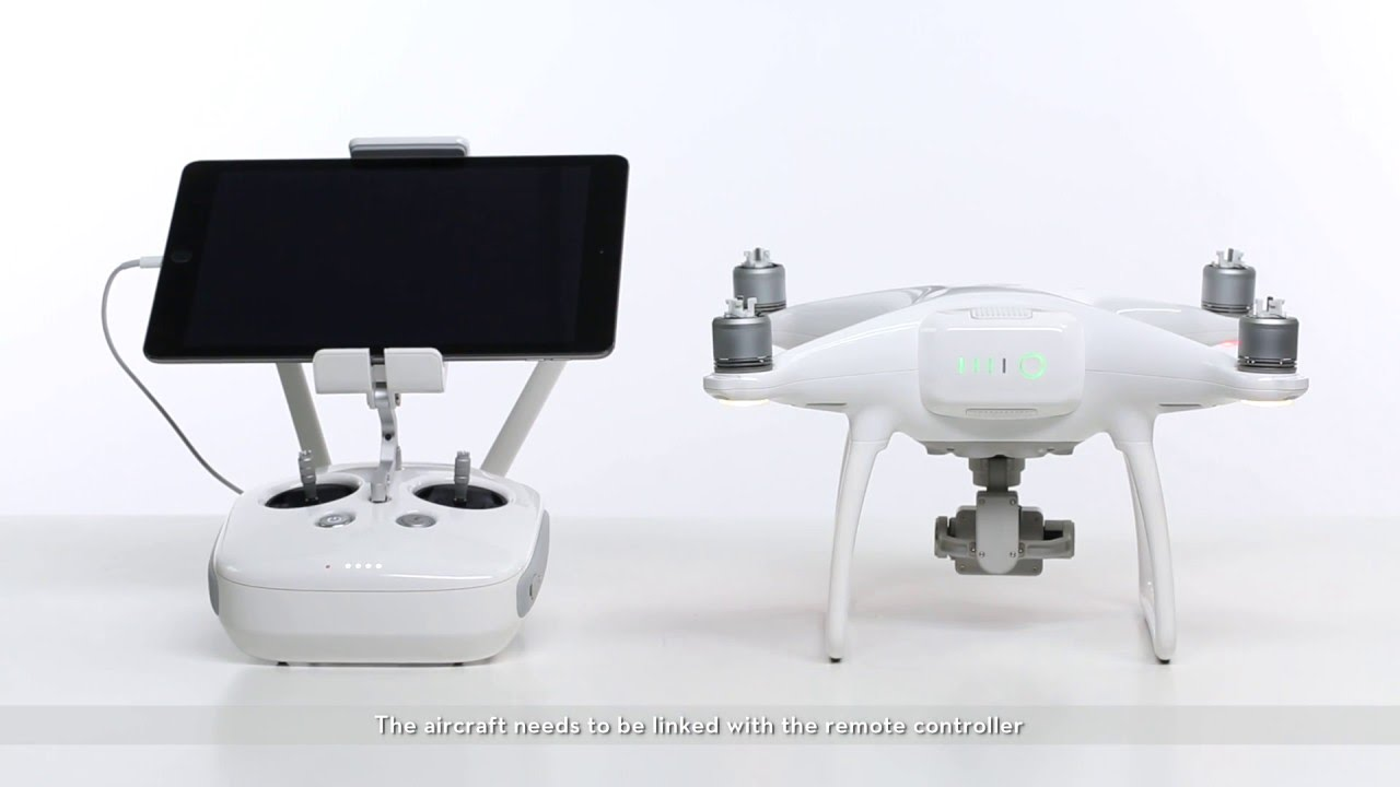 How To Link The Remote Controller On Dji Phantom 4 Youtube Wireless Control System Has Four Modes Toggle