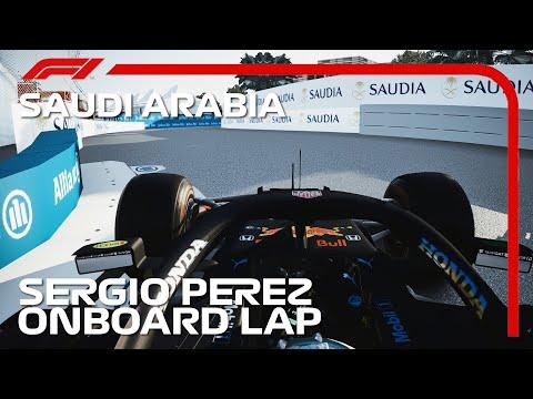 F1 2021 Sergio Perez Onboard Lap At Riyadh Street Circuit   2021 Saudi Arabian Grand Prix