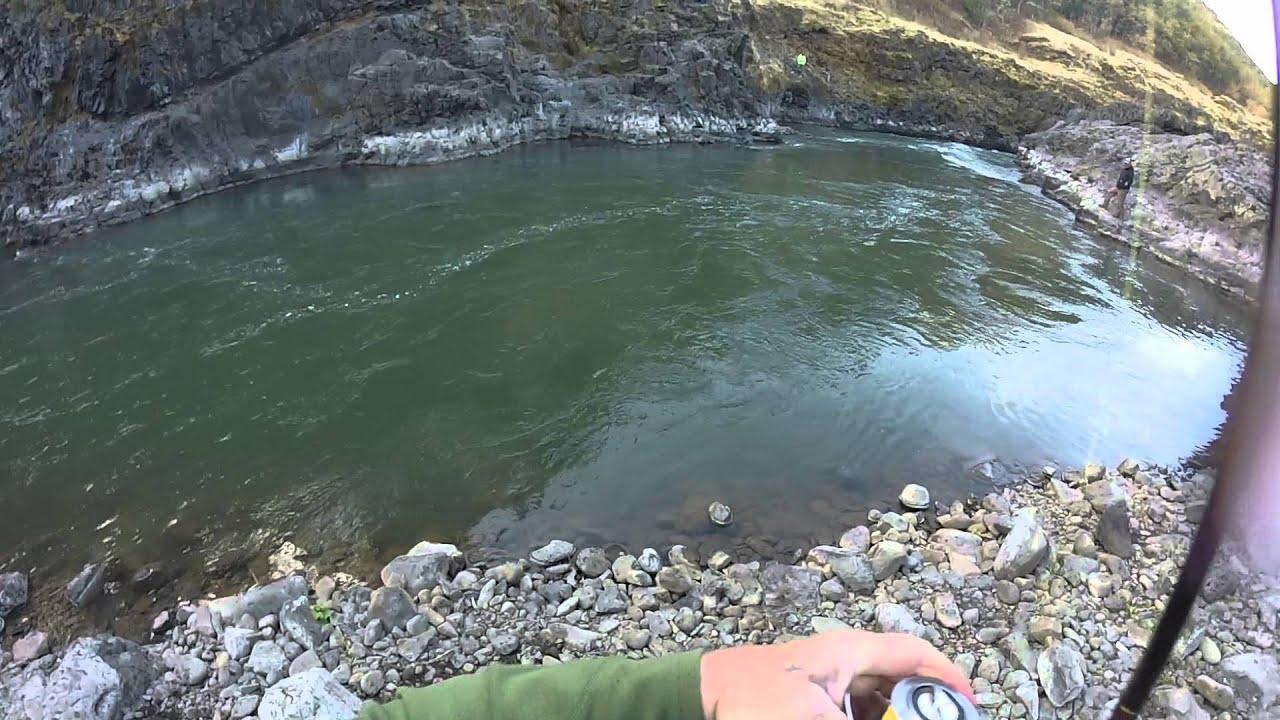 Chinook fishing klickitat river sept 7 2015 1st fish youtube for Klickitat river fishing report
