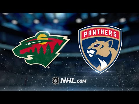 Huberdeau scores twice as Panthers beat Wild, 4-2