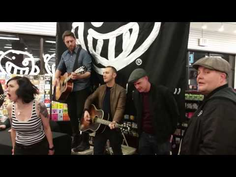 Dropkick Murphys - The Dirty Glass @ Norwood Newbury Comics (1/10/17)