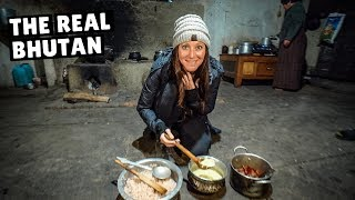 WE LIVED WITH A LOCAL FAMILY IN BHUTAN (life in a rural village)