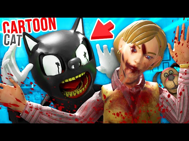 Cartoon Cat just KILLED MOM and DUCK SEASON DOG!!?! - Duck Season VR