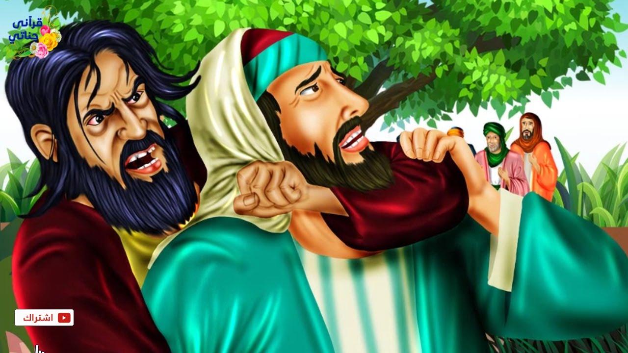 قصة عجيبة ذهب هذا الرجل لقطع شجرة يجتمع عندها قومه ولما تعرض له رجل كانت الصدمة الكبرى (جديدة)