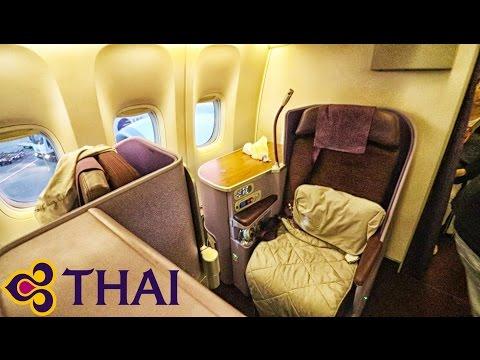 THAI AIRWAYS - Business Class - InFlight Experience - Bangkok to Frankfurt - BOEING 777-300ER