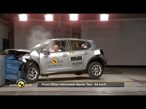 Citroen C3 Crash Test Euro NCAP   Rating: ★★★★✩