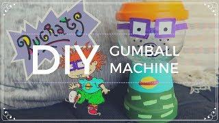 DIY Rugrats Gumball Machine | Dollar Tree