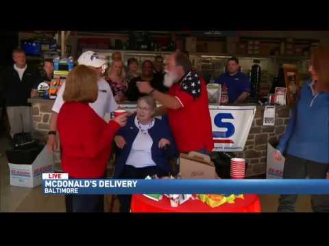 FOX 45 Morning Break - McDonalds 11/11/16