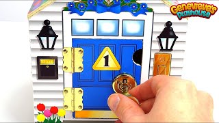 Learn Colors and Numbers with Cute Locking Dollhouse for Kids! thumbnail