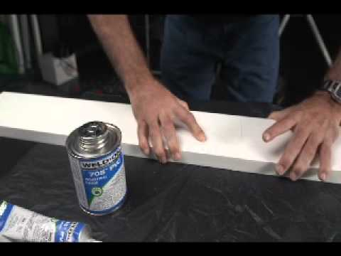 Recommended Sealants and Adhesives for Versatex PVC trim