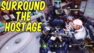Surround the Hostage! - Rainbow Six Siege Funny Moments & Epic Stuff (Siege Week)