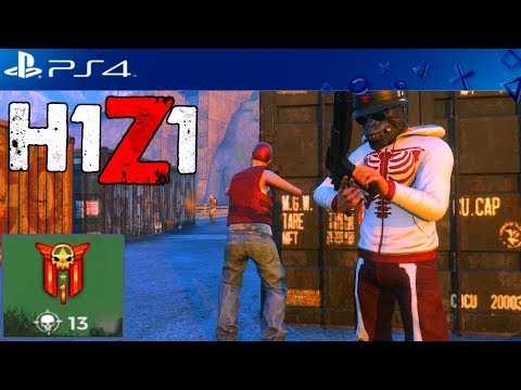 13 KILL SOLO WIN! H1Z1 PLAYSTATION 4 GAMEPLAY
