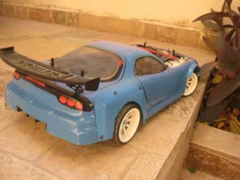 Mazda Rx Fd Rwd Rc Drift Car Project Youtube
