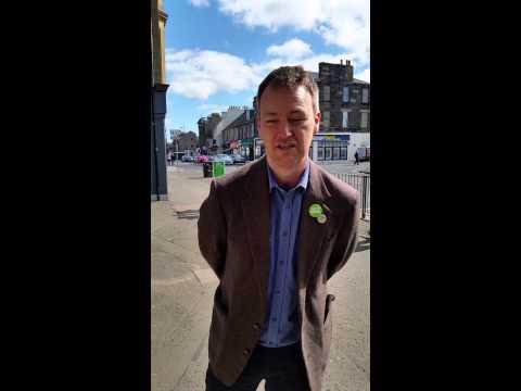 Jason Rose, Scottish Greens, Musselburgh