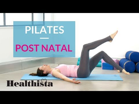 15 Minute Post natal Pilates
