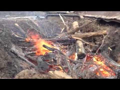 Air Curtain Pit Burner 2   YouTube