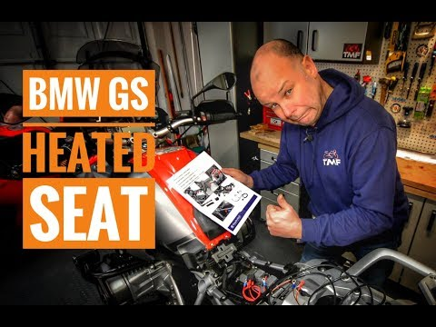 How to install a Wunderlich heated seat on a BMW R1200 GS