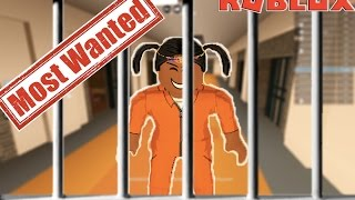 MADE THE MOST WANTED LIST IN JAIL BREAK BETA On Roblox