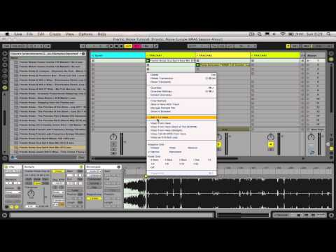 Tutorial Ableton Español: DJ Mixing #1: Warpeo