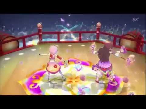 Aikatsu! Episode 121  「Light Pink Day Tripper」by Fujiwara Miyabi & Kitaoji Sakura