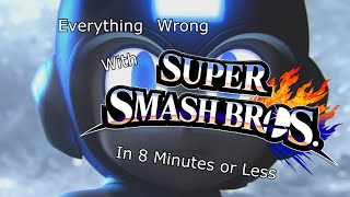 Everything Wrong With Super Smash Bros. 4(Cinemasins Homage)