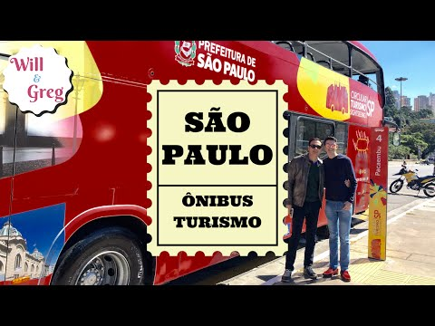 TOUR SÃO PAULO - CIRCULAR TURISMO - HOP ON HOP OFF | Sightseeing | Liberdade | Brazil