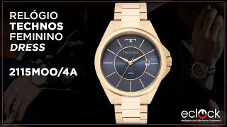 Relógio Technos Feminino Dress 2115MOO 4A - Eclock ... 40d5327be6