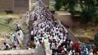 zafarwal qari sahib going to graveyard