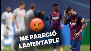 Los hinchas de Barcelona opinan del rendimiento de Lio Messi 😱