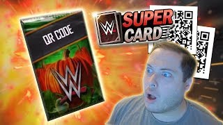 These Halloween QR Code Packs are INSANE!! | WWE SuperCard