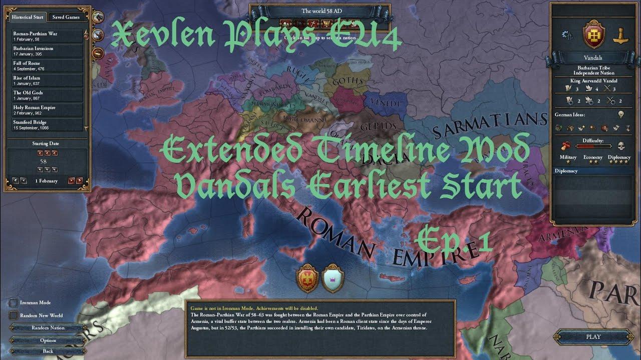 Europa Universalis 4 Extended Timeline Mod - idealxsonar