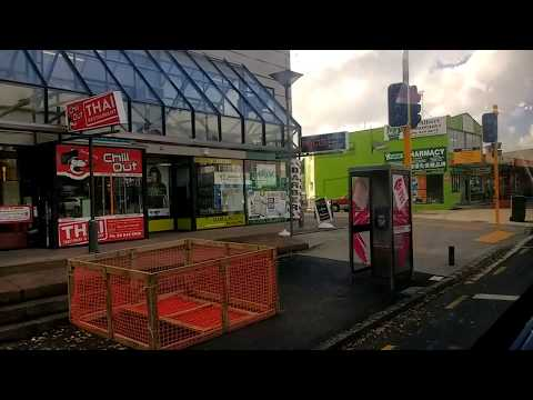 Bus ride from Mt Albert to Auckland CBD