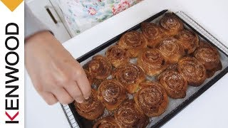 Cinnamon Swirls | Kenwood Chef Sense | Recipe Thumbnail