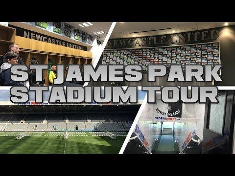 ST JAMES PARK STADIUM TOUR! (NEWCASTLE UNITED STADIUM)