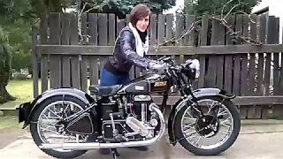 Rudge 500 Special 1937 Video