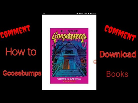 How To Download All 1- 62 Books Of Goosebumps For Free In Android By K.Nipun Sai