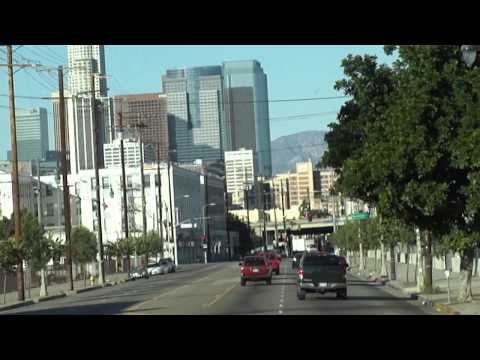 LAX to Hollywood on Union Station Flyaway bus and Red Line 2011-10-08