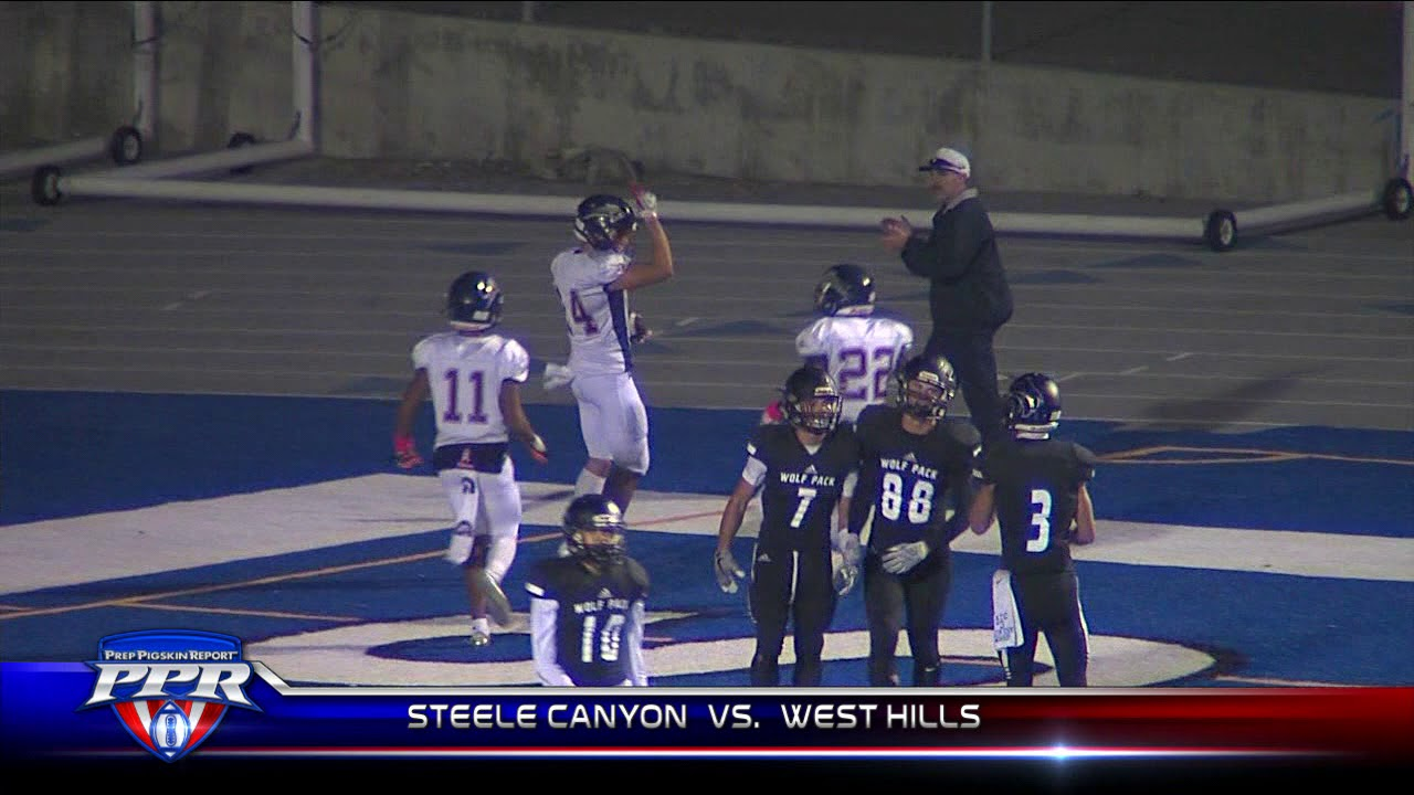 online store 07b46 8a50c Steele Canyon Cougars 28, West Hills Wolf pack 10