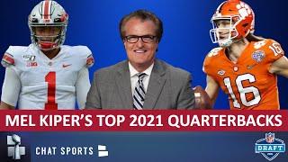 Mel Kiper's Top 5 QB Prospects For 2021 NFL Draft + Other Quarterbacks To Watch