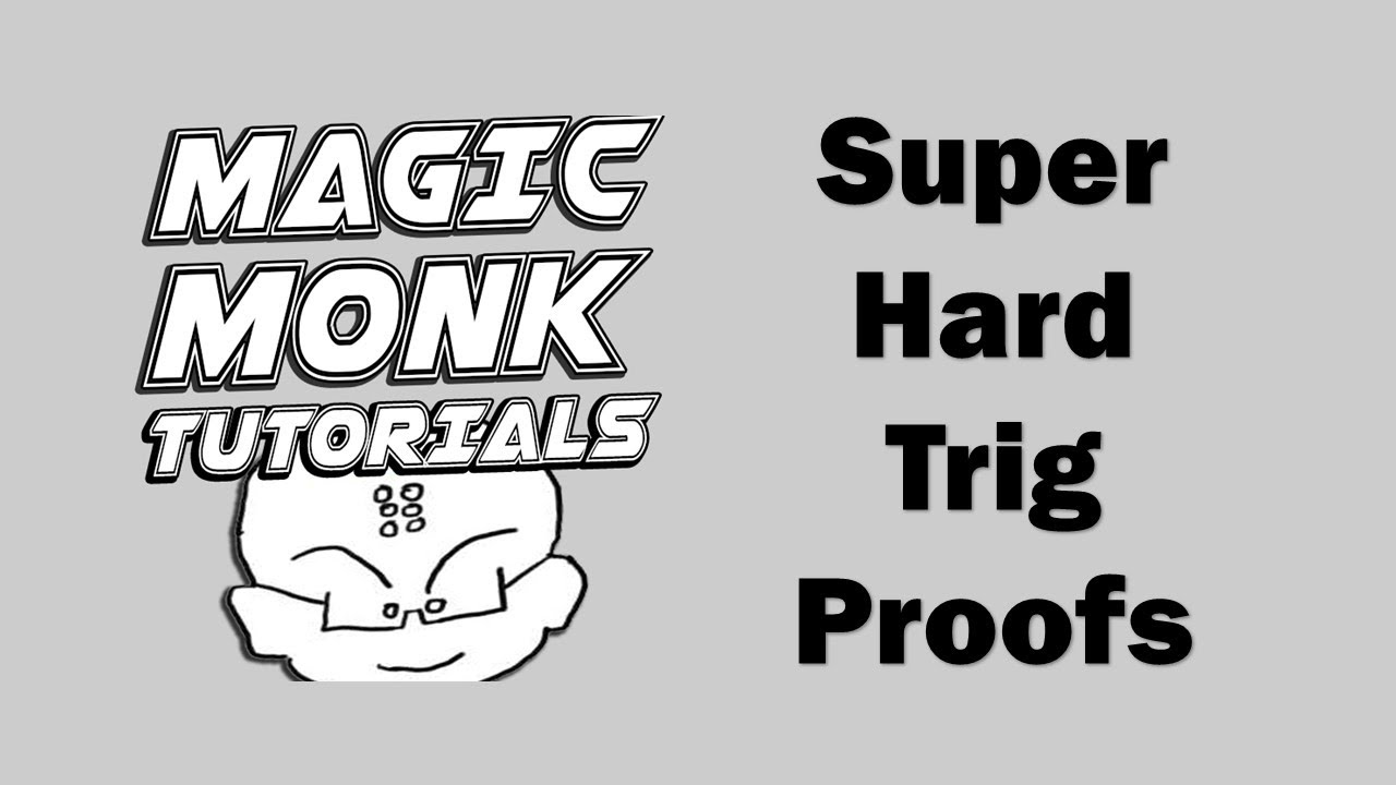 Super hard trigonometric identity proof question