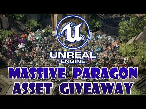 $12Mil in Free Unreal Engine Assets from Paragon Released